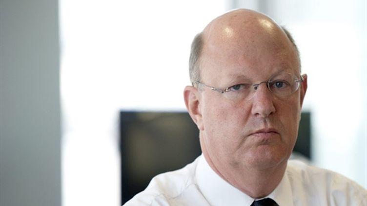 Rémy Pflimlin, le nouveau PDG de France Télévisions - 07/07/10 (AFP Martin Bureau)