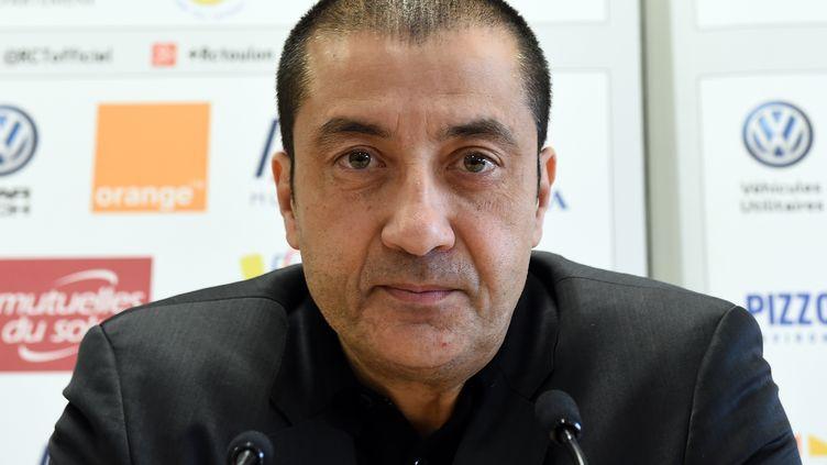 Le président du club de rugby RC Toulon, le 21 décembre 2016. (BORIS HORVAT / AFP)
