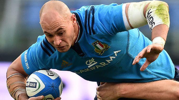 Sergio Parisse, le joueur italien