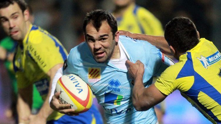 Perpignan a dû s'employer pour arracher la victoire face à Clermont.  (RAYMOND ROIG / AFP)