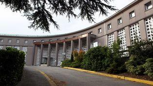 L'hôpital Morvan de Brest, d'où s'est échappé un détenu lors de son transfert entre la prison et le CHU, mercredi 16 mai 2018. (MAXPPP)