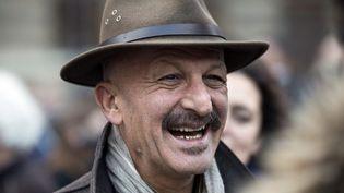 Reza, à Paris, lors d'une manifestation pour Greenpeace en novembre 2013  (AFP / Fred Dufour)