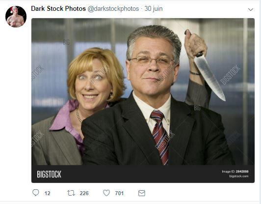 """Pourson auteur, cette image est une métaphore: celle d'un employé à qui on ne peut pas faire confiance ou alors un """"mauvais boss"""" dont l'employé se vengerait. (Creatista / Bigstock)"""