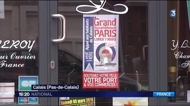 Migrants à Calais : la population manifeste lundi à Paris