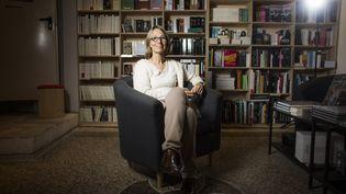 L'éditrice Françoise Nyssen, en novembre 2015 à Arles (Bouches-du-Rhône). (P. GHERDOUSSI / CHALLENGES-REA)