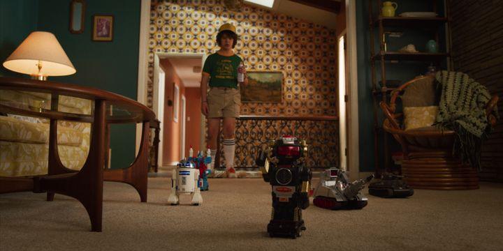 Dustin (Gaten Matarazzo) est un des personnages principaux de la série. (NETFLIX)