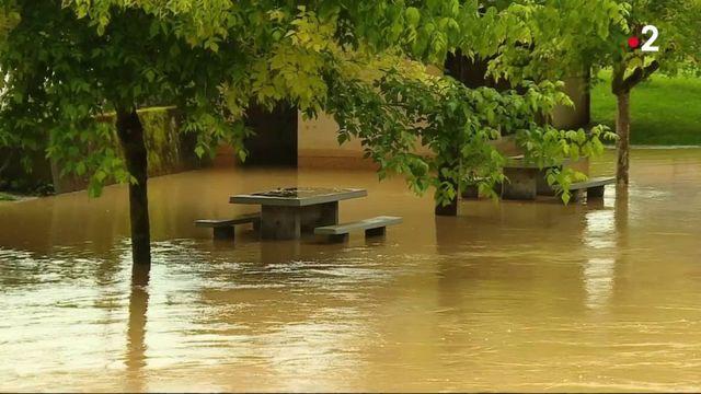 Gers : des maisons inondées