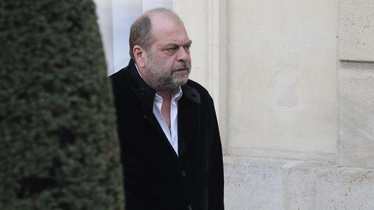Eric Dupont-Moretti à Paris, le 20 février 2019. (LUDOVIC MARIN / AFP)