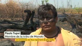Incendies en Amazonie (FRANCEINFO)