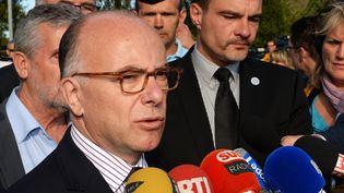 Le ministre de l'Intérieur, Bernard Cazeneuve, le 26 juillet 2015. (MEHDI FEDOUACH / AFP)
