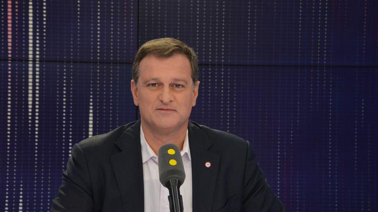 Louis Aliot, vice-président du Front national. (JEAN-CHRISTOPHE BOURDILLAT / RADIO FRANCE)