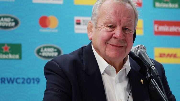 Bill Beaumont a été réélu à la tête de World Rugby. (DAISUKE TOMITA / YOMIURI)