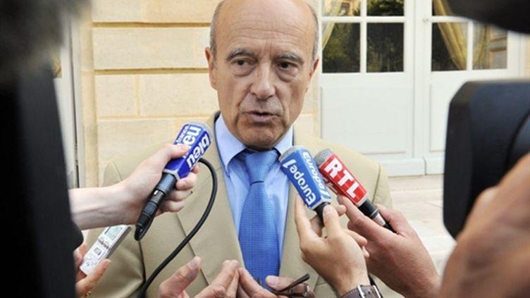 Alain Juppé, maire de Bordeaux, en août 2010 (AFP - Pierre Andrieu)
