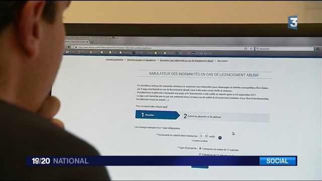 Licenciements : un simulateur sur internet en cas d'abus