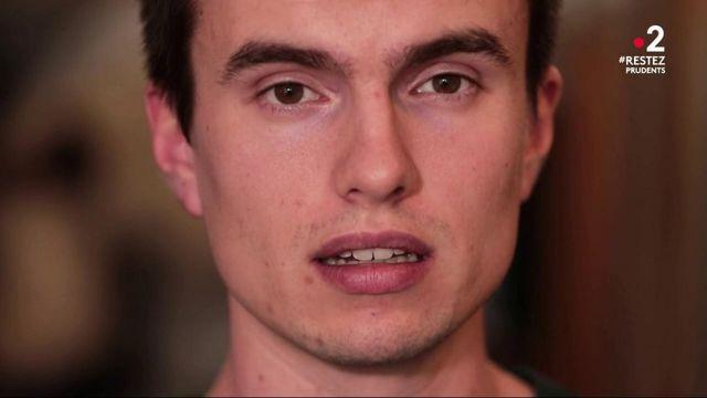 """""""J'ai ressenti beaucoup de cohésion, de solidarité"""" : la crise du coronavirus vue par un étudiant en médecine"""