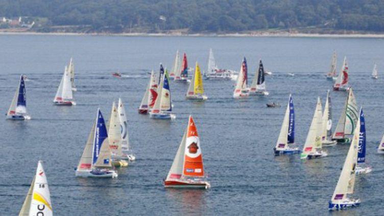 La flotte de la Solitaire du Figaro