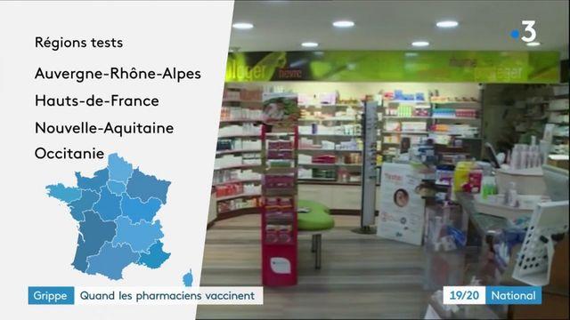 Grippe : les pharmaciens habilités à vacciner dans quatre régions françaises