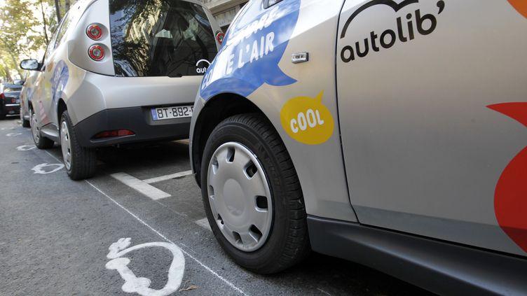 Un véhicule du service Autolib (THOMAS SAMSON / AFP)