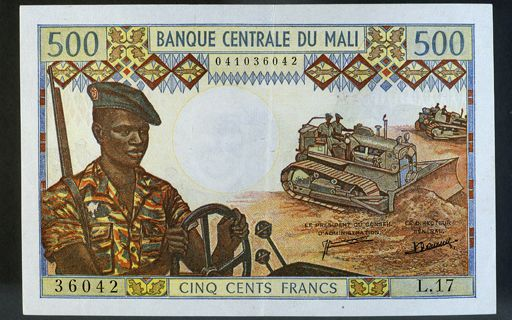 Le Mali est revenu au franc CFA en 1984 après l'avoir quitté en 1962. (AFP/ Gianni Dagli Orti)
