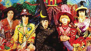 """Les Rolling Stones sur la pochette de """"Their Satanic Majesties Request"""".  (DR)"""