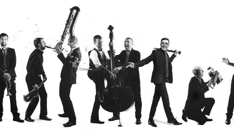 Une partie de l'orchestre The Amazing Keystone Big Band (The Amazing Keystone Big Band)