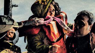 """Extrait de la couverture """"La Fissure"""", Carlos Spottorno et Guillermo Abril (Gallimard BD)  (Carlos Spottorno)"""