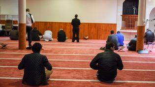 La mosquée Sunna de Brest, photographiée le 20 novembre 2015, a fait l'objet d'une perquisition administrative vendredi 20 novembre 2015. (MAXPPP)