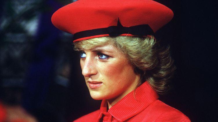 La princesse Diana lors d'une visite à Bonn (Allemagne), le 15 novembre 1987. (SVEN SIMON / PICTURE-ALLIANCE / AFP)