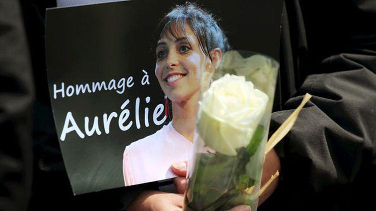(Les obsèques d'Aurélie Châtelain avaient lieu ce mercredi après-midi à Caudry dans le Nord © Maxppp)