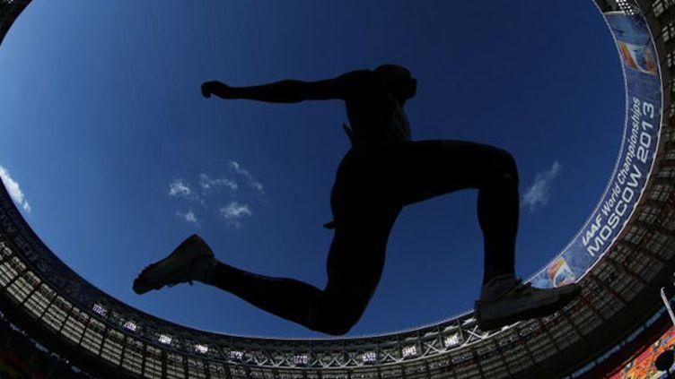 L'ombre du triple-saut dans le stade de Moscou