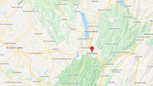Les faits se sont produits vers 17hà l'entrée du Parc du Verney à Chambéry. (GOOGLE MAPS / FRANCEINFO)