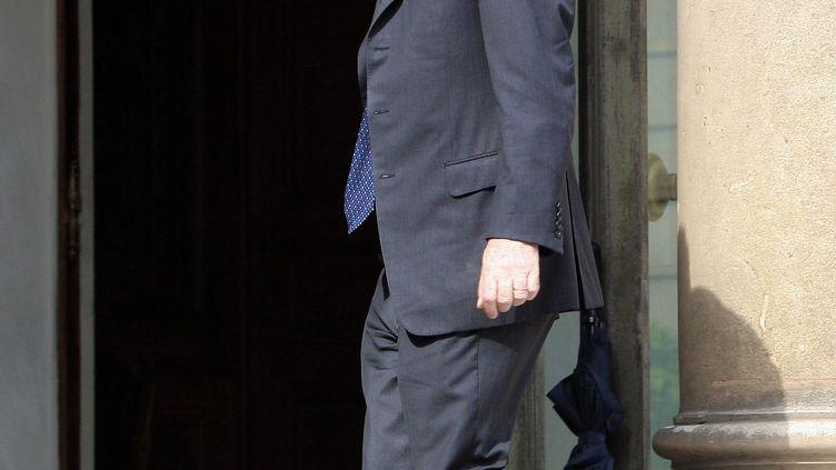Patrick Devedjian, alors secrétaire général de l'UMP, à l'Elysée le 21 juin 2007. (JACQUES DEMARTHON / AFP)