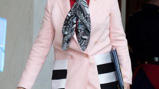 Ségolène Royal, ministre de l'Environnement sort de l'Elysée, le 1er février2017 (VILLARD / SIPA)