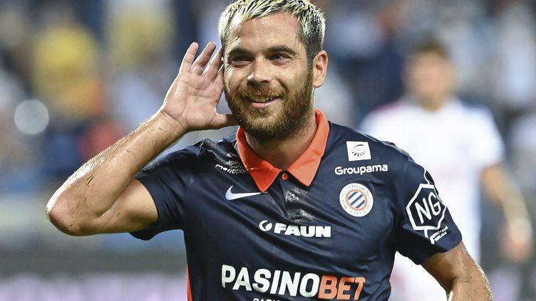 Savanier a inscrit son deuxième doublé en Ligue 1 ce soir (PASCAL GUYOT / AFP)