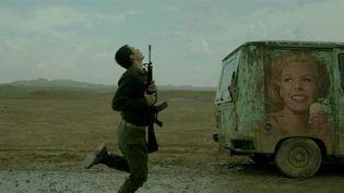 """Un soldat israélien dans """"Foxtrot"""", film de Samuel Maoz  (DR)"""