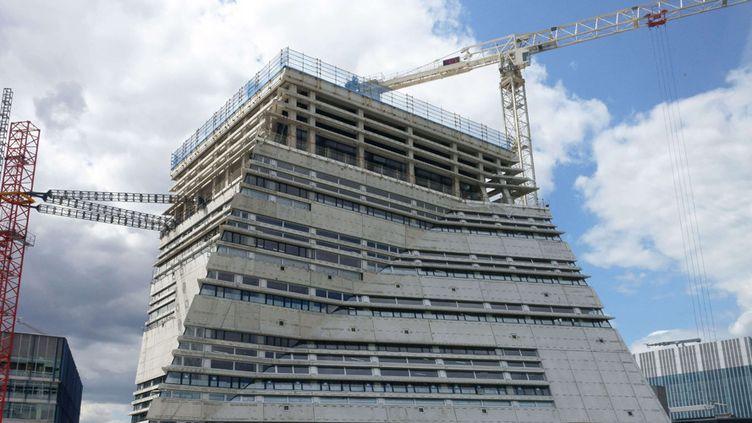 Le chantier de l'extension de la Tate Modern, le 8 juin 2015 à Londres  (Jeff Blackler/Rex Shutt / Sipa)