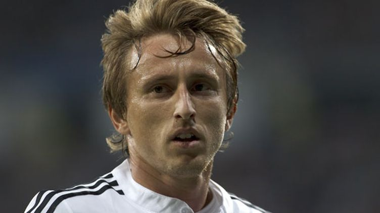 Le milieu de terrain du Real Madrid, Luka Modric
