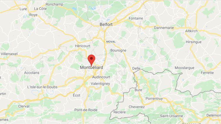 Montbéliard (Doubs). (GOOGLE MAPS / FRANCEINFO)