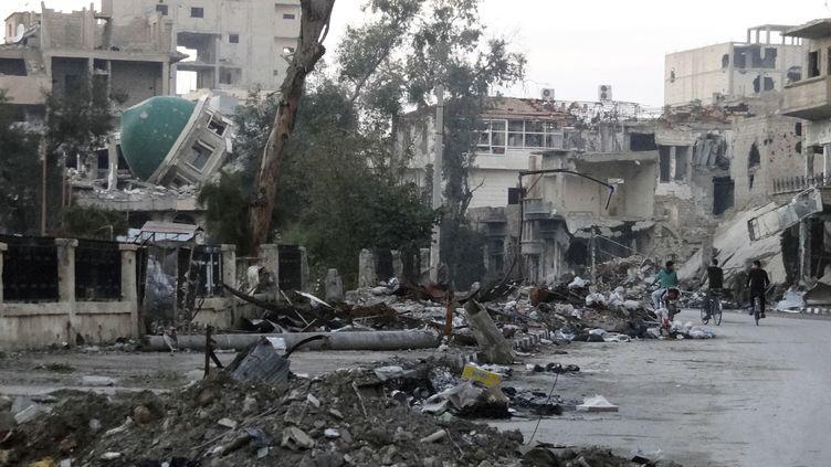La ville deDeir Ezzor, en Syrie, le 5 mars 2014. (REUTERS)