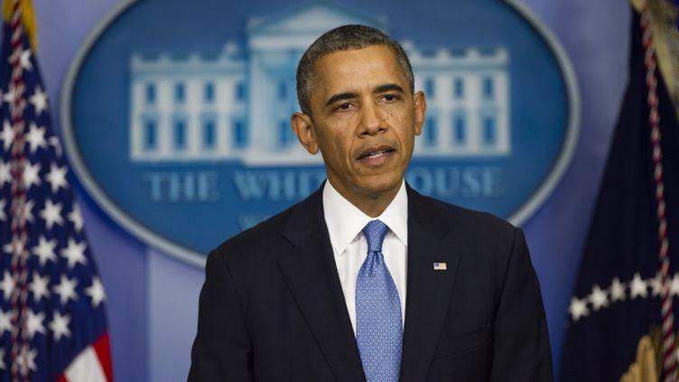 Barack Obama, le 30 septembre 2013 à Washington (Etats-Unis). (SAUL LOEB / AFP)