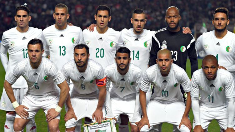 La sélection algérienne