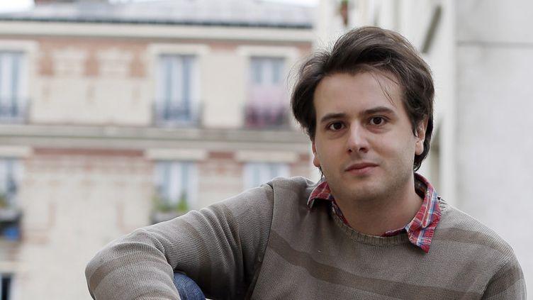 L'écrivain Tristan Garcia en 2013.  (THOMAS SAMSON / AFP)