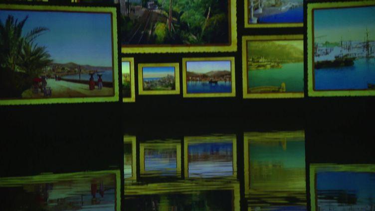 """Exposition immersive : """"Monet, Renoir… Chagall, Voyages en Méditerranée"""" au Centre d'art numérique de Bordeaux (France Télévisions / France 3 Aquitaine)"""