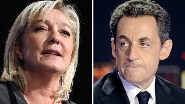 """Le """"Wall Street Journal"""" fustige le """"cynisme"""" de Nicolas Sarkozy, qui chercherait à séduire les électeurs de Marine Le Pen. (LIONEL BONAVENTURE / POOL)"""