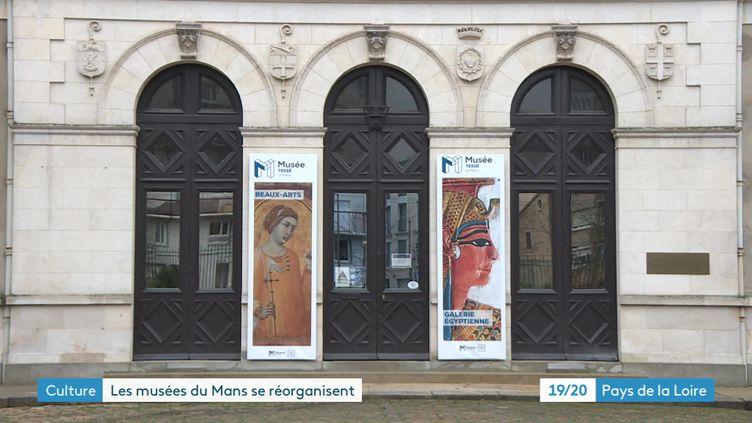 Réorganisation des musées municipaux du Mans (France 3 Pays de la Loire)