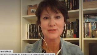 Karine Berthaud. (FRANCEINFO)