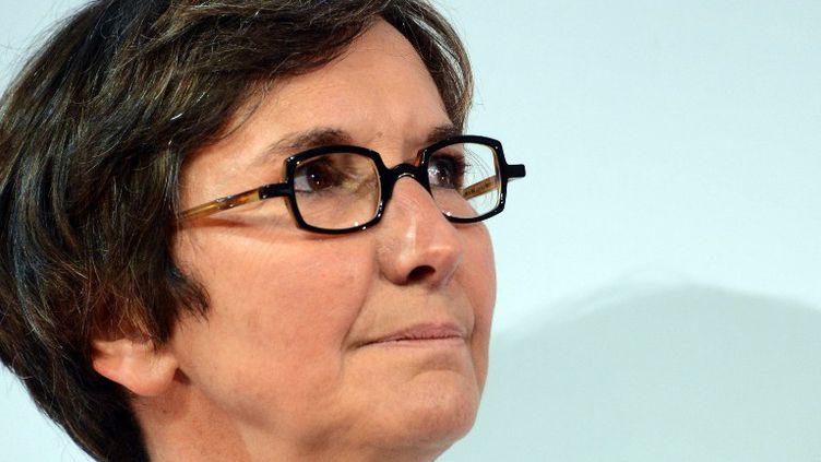 Valérie Fourneyron, ministre des Sports, souhaite légiférer pour endiguer les paris truqués  (DAMIEN MEYER / AFP)