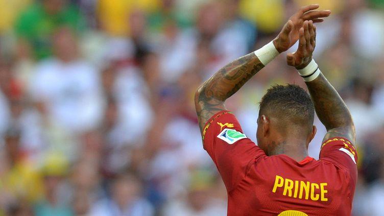 Kevin-Prince Boateng a été exclu de la sélection ghanéenne en compagnie de Sulley Muntari pour raisons disciplinaires (THOMAS EISENHUTH / DPA)