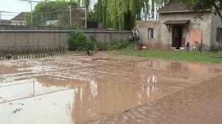 Seine-et-Marne : les intempéries ont provoqué des inondations dans la ville de Thieux (France 3)