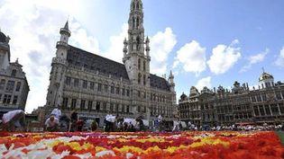 Bruxelles parée de milliers de fleurs  (photo news)